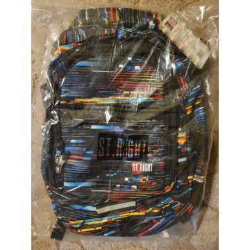 Dwukomorowy plecak St.Right 27 L Beta Stripes BP34