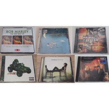 Zestaw CD Pop: m.in. Eels, Gorillaz, Bob Marley