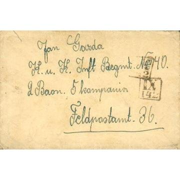 1916 - Brzozów - kamuflażowy st.okręg. IX-142