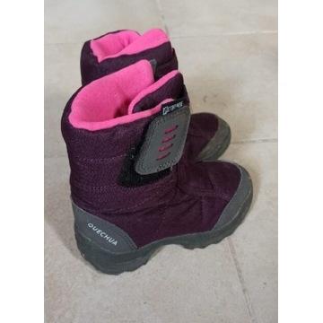 Buty zimowe dziecięce dziewczynka decathlon r25