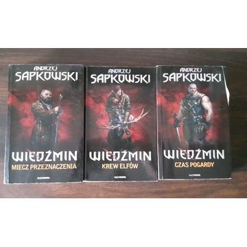 Wiedźmin - Andrzej Sapkowski części - 2/3/4