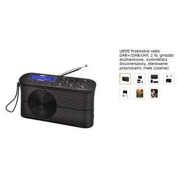 Cyfrowe radio DAB+ / UKF UEME DB-366 budzik