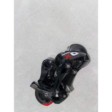 Przerzutka Sram X-0 10rz. długi wózek red