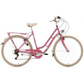Miejski Rower 28 Dziewczęcy Damka Bagażnik