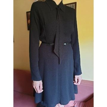 Sukienka Mała czarna Sandro Paris midi M