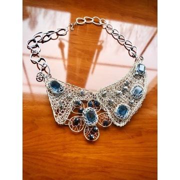 Naszyjnik z kryształkami Swarovskiego