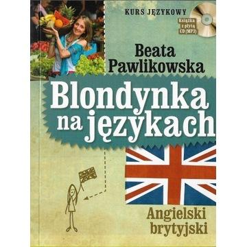 Blondynka na językach Angielski brytyjski +CD /bdb