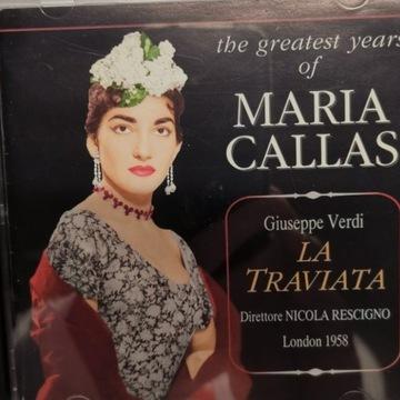 """MARIA CALLAS """"LA TRAVITA"""" 2CD !!!!"""