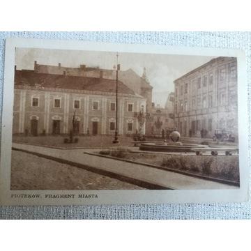 Widokówka Piotrków lata 20.