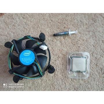 Procesor Intel core 2 duo E8400 + Chłodzenie Intel