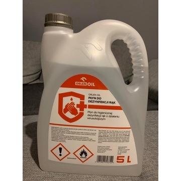 Płyn do dezynfekcji rąk i powierzchni Orlen 5L