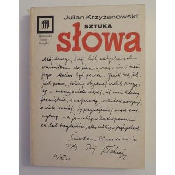 Krzyżanowski. Sztuka słowa
