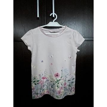 Śliczna letnia bluzka H&M, roz. 122/128 cm