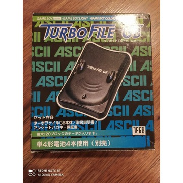 Turbo File Game Boy Nintendo Nowe