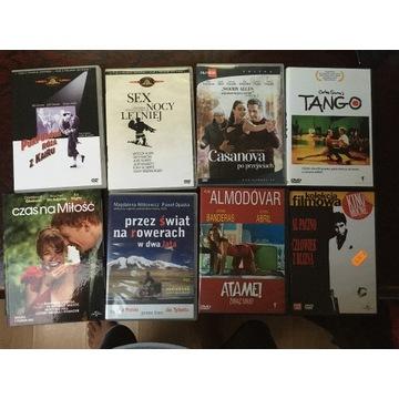 pakiet filmów DVD - Woody Allen, Almodovar i inne