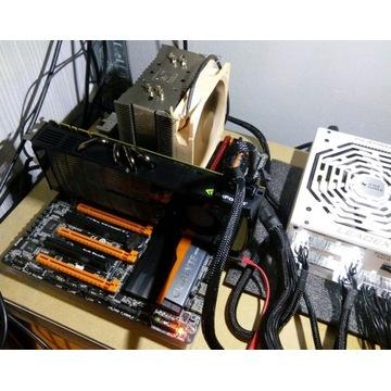 Gigabyte Z87X OC + i5 4670K skalp @4,5Ghz + Noctua