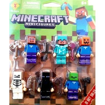 Minecraft figurki Nowe