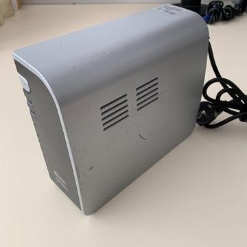 Zasilacz UPS Mustek PowerMust 600, bateria do wym.