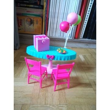 Urodzinowy zestaw Barbie +2 lalki gratis.