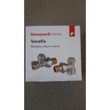"""Zawór powrotny Verafix 1/2"""", kątowy Honeywell"""