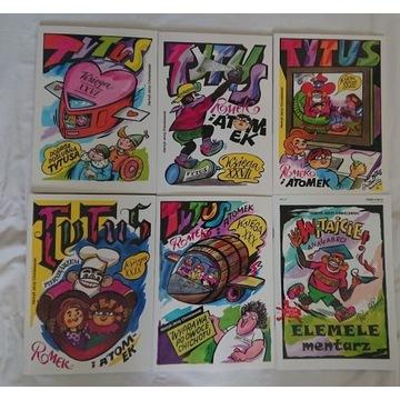 Tytus Romek i Atomek zestaw komiksow