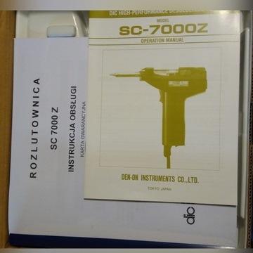 Odsysacz Rozlutownica Pistolet DEN-ON SC-7000Z