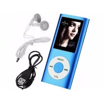 ODTWARZACZ MP3 MP4 czytnik 32G RADIO DYKTAFON PL