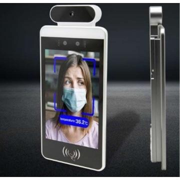 Bezdotykowy termometr z rozpoznawaniem twarzy