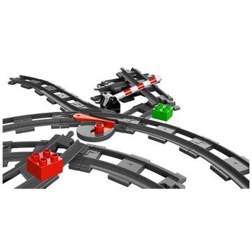 -= LEGO DUPLO 10506 - TORY KOLEJOWE - II ZESTAW =-