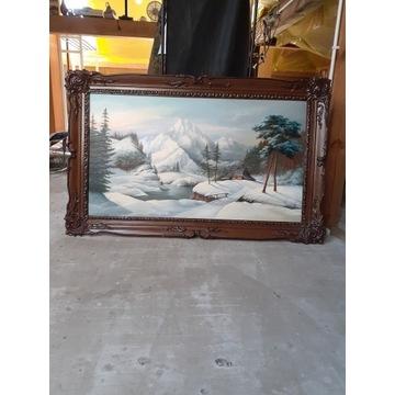 Obraz olejny o wymiarach 120×70