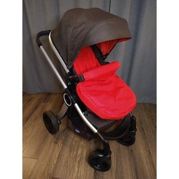 Wózek ChiccoUrban(3w1)+nosidło z adapterem+gratis