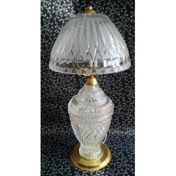 Piękna Duża stojąca lampa kryształowa 63 cm