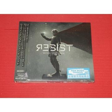 WITHIN TEMPTATION Resist JAPAN CD DIGIPACK DIGIPAK