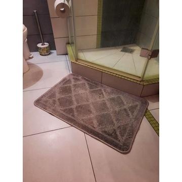 Dywanik łazienkowy dywan chodnik 80x50 cm szary