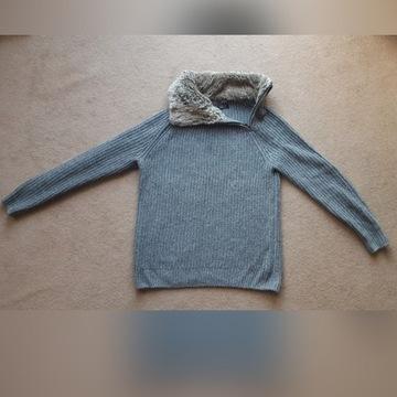 ZARA miś sweter męski, idealny L