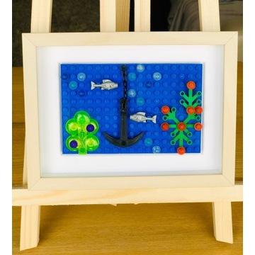 """LEGO_obraz """"Ocean""""_wyjątkowy prezent"""