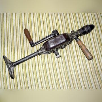 Stara pamiątkowa wiertarka ręczna