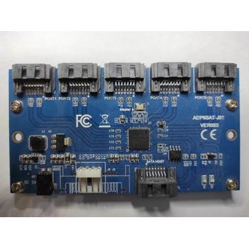 Multiplikator portów SATA z 1 SATA do 5 ADP6SAT
