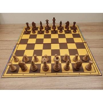 Szachy składana szachownica z bierkami Staunton 6