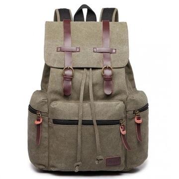 Plecak szkolny/miejski vintage KANO
