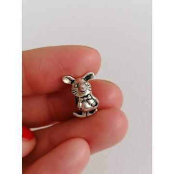 Koralik modułowy mysz pandora ohm beads srebro 925