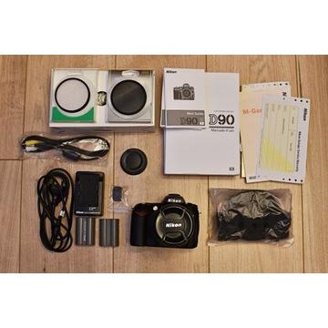 Nikon D90 od 1 właściciela + obiektyw 18-105