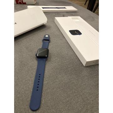APPLE Watch 6 GPS 40mm niebieski z GWARANCJĄ