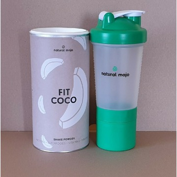 NATURAL MOJO FIT SHAKE-Zestaw Fit Coco+ shaker