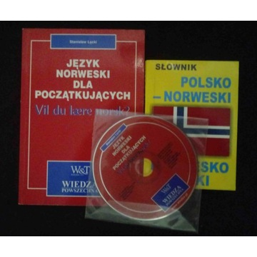 Łęcki Norweski dla początkujących + CD + słownik