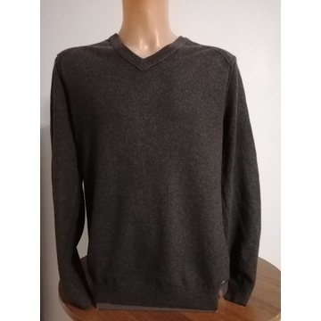 Hugo Boss sweter 100% wełna XL