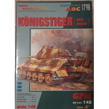 GPM 148 KONIGSTGER (TIGER II) WIEŻA PORSCHE