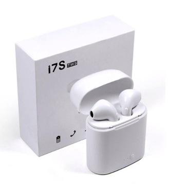 Słuchawki Bezprzewodowe BT TWS i7S  2 komplety !!