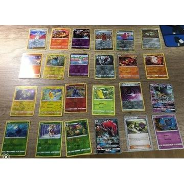 Karty pokemon 24 sztuki