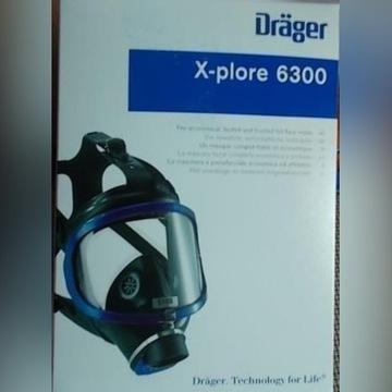 Maska gazowa Dräger X-plore 6300 + filtr A2B2